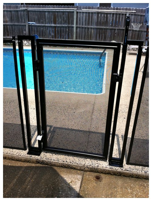 Baby Barrier Projects In New Jersey Pool Safety Fencing Photo